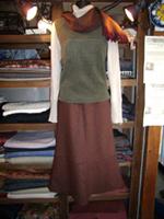 よく着てあきてしまった洋服から別の形の洋服に変える